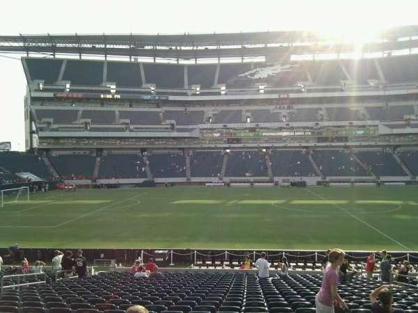 Lincoln Financial Field, sección: 119, fila: 24, asiento: 11
