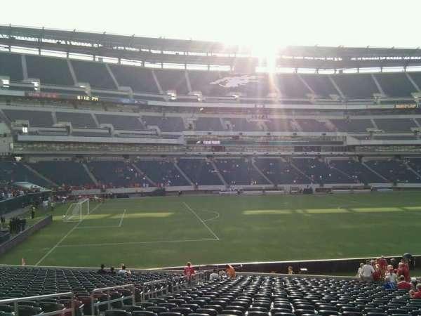 Lincoln Financial Field, sección: 117, fila: 28, asiento: 19