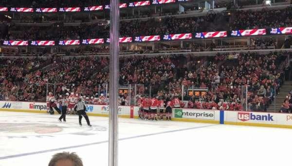 United Center, sección: 110, fila: 3, asiento: 9