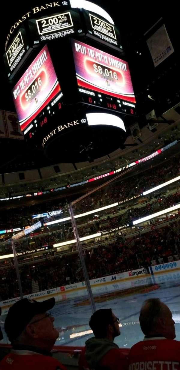 United Center, sección: 110, fila: 3, asiento: 10