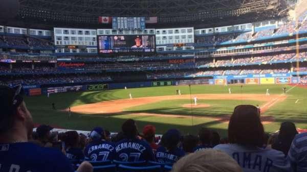 Rogers Centre, sección: 124r, fila: 31, asiento: 9