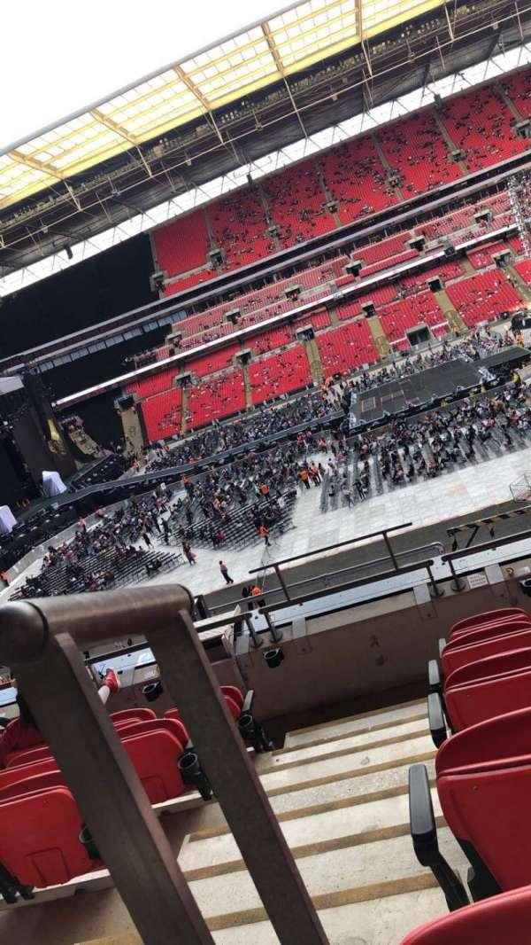 Wembley Stadium, sección: 227, fila: 6, asiento: 12