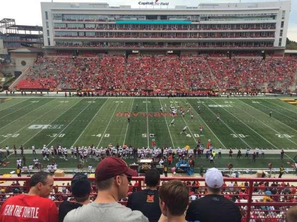Maryland Stadium, sección: 206, fila: 4, asiento: 15