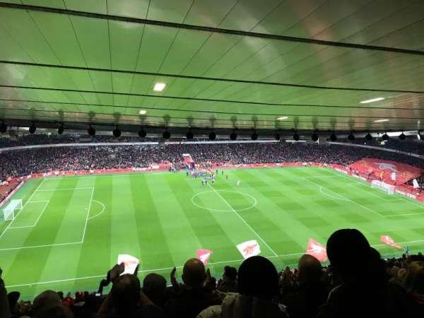 Emirates Stadium, sección: 114, fila: 30, asiento: 662