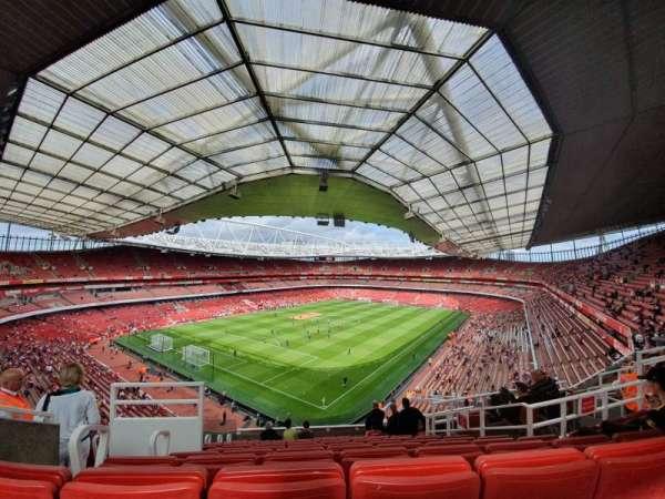 Emirates Stadium, sección: 119, fila: 12, asiento: 782