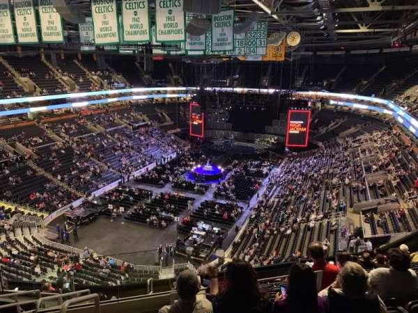 TD Garden, sección: Bal 306, fila: 11, asiento: 23