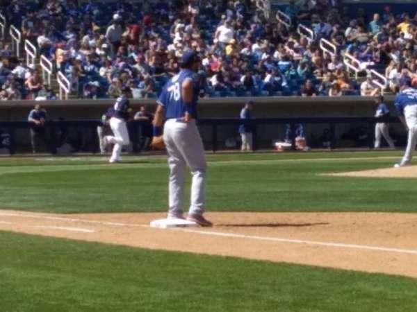 Maryvale Baseball Park, sección: 115, fila: b, asiento: 15