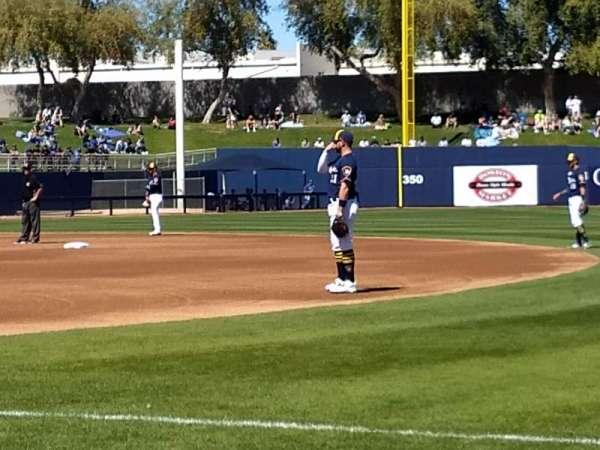 Maryvale Baseball Park, sección: 115, fila: b, asiento: 16