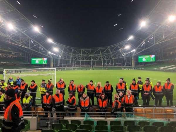 Aviva Stadium, sección: 114, fila: J, asiento: 11