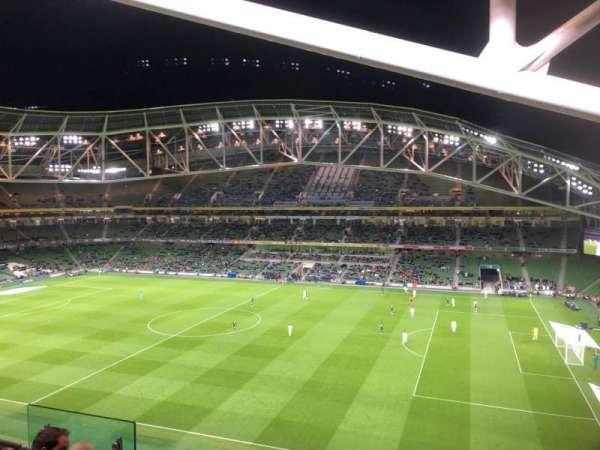 Aviva Stadium, sección: 502, fila: E, asiento: 9