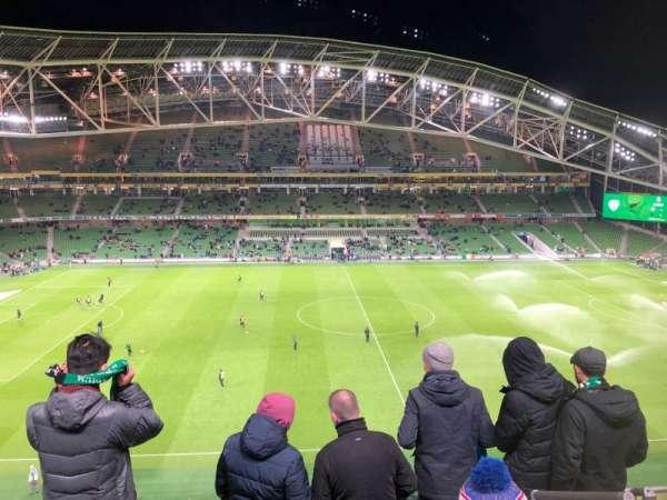 Aviva Stadium, sección: 505, fila: E, asiento: 16
