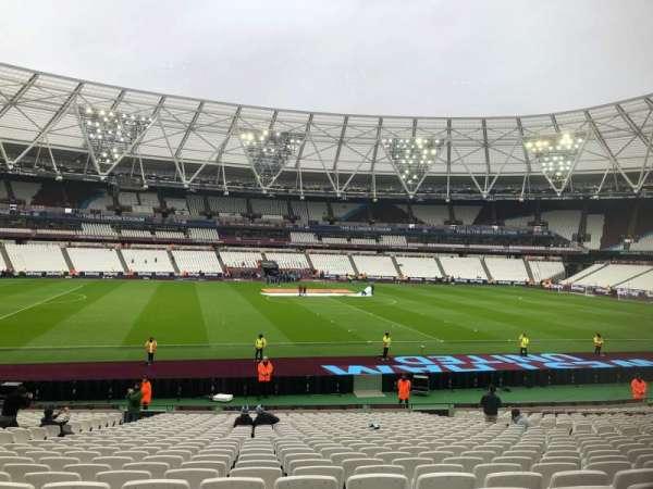 London Stadium, sección: 134, fila: 26, asiento: 301