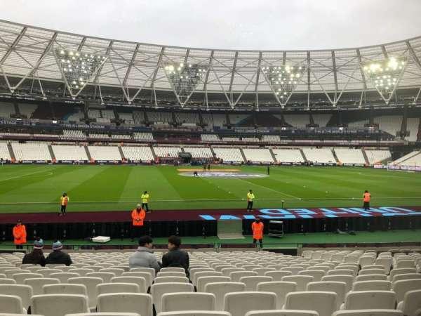 London Stadium, sección: 134, fila: 18, asiento: 294