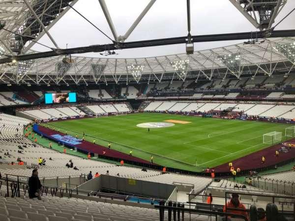 London Stadium, sección: 243, fila: 48, asiento: 218