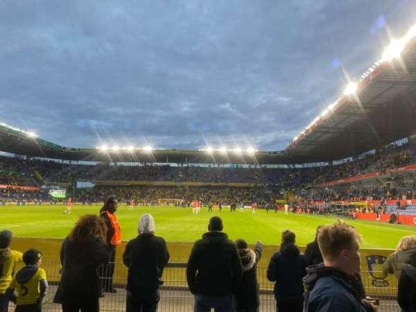 Brøndby Stadion, sección: N1, fila: 1, asiento: 134