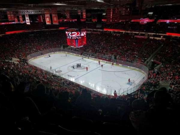 PNC Arena, sección: 320, fila: J, asiento: 3