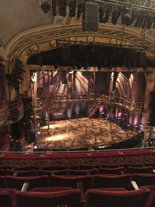 Richard Rodgers Theatre, sección: Front Mezzanine L, fila: F, asiento: 17