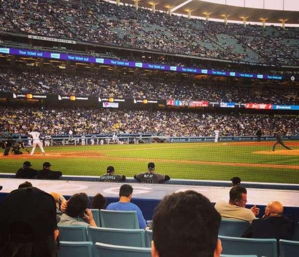 Dodger Stadium, sección: Field Box MVP 20, fila: C