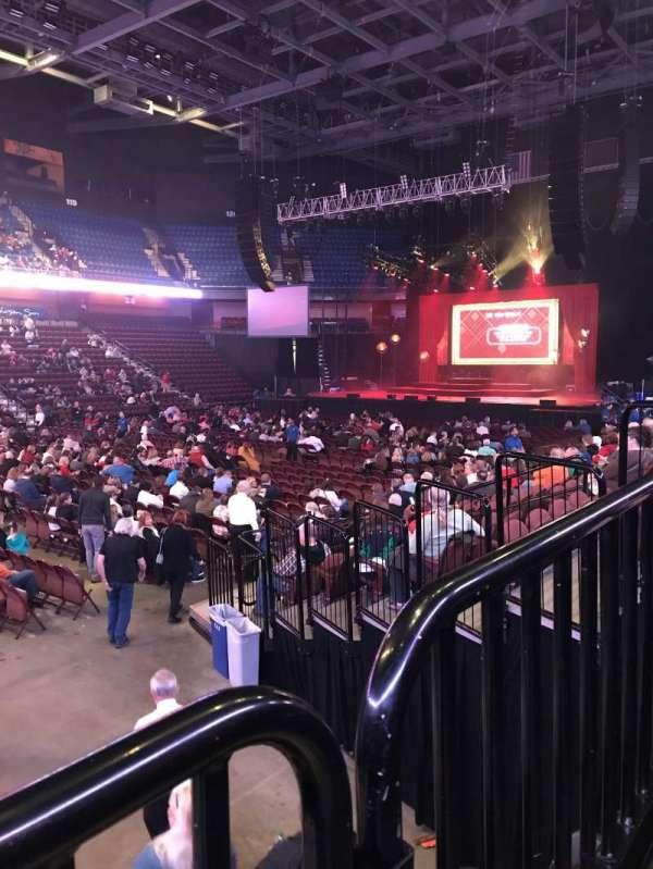 Mohegan Sun Arena, sección: 17, fila: K, asiento: 15