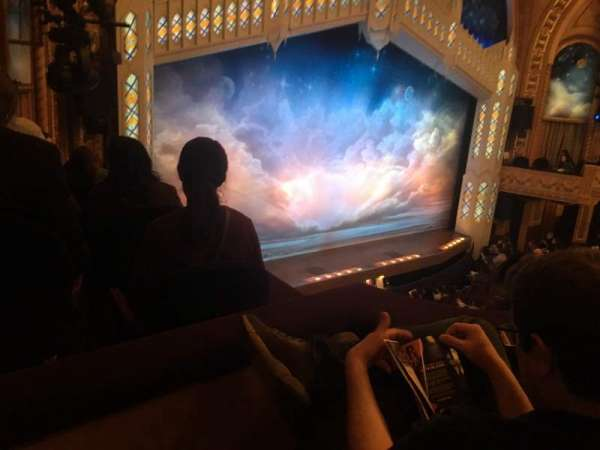 Eugene O'Neill Theatre, sección: Left Mezzanine, fila: B, asiento: 25