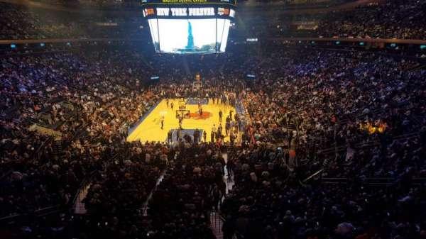 Madison Square Garden, sección: 204LWC, fila: 1, asiento: 32