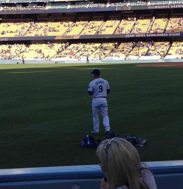 Dodger Stadium, sección: 51fd, fila: E, asiento: 8