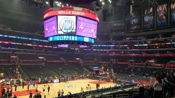 Staples Center, sección: PR16, fila: 2, asiento: 6