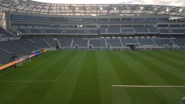 Banc of California Stadium, sección: 215, fila: C, asiento: 1