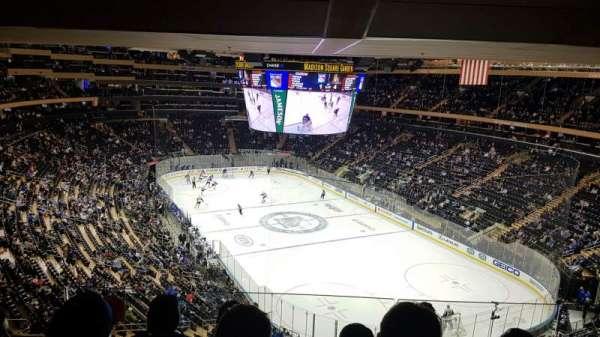 Madison Square Garden , sección: 414, fila: 4, asiento: 14