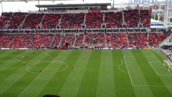 BMO Field, sección: 206, fila: 21, asiento: 31