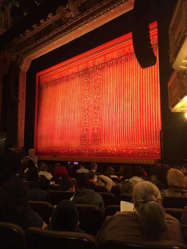 Hippodrome Theatre, sección: Right orchestra, fila: M, asiento: 20 and 22
