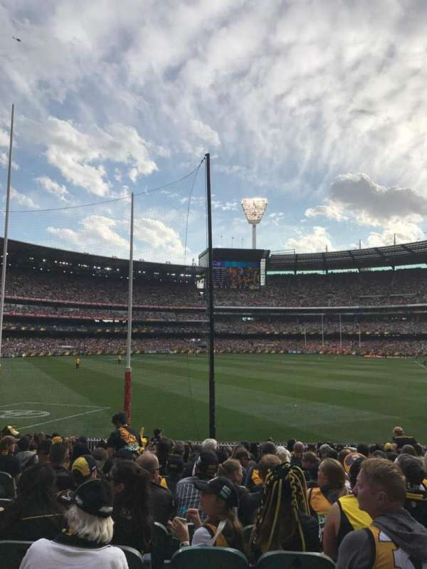 Melbourne Cricket Ground, sección: M1, fila: Q, asiento: 14