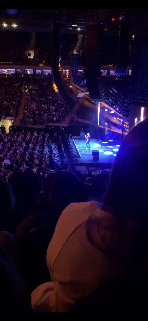 Madison Square Garden, sección: 109, fila: 18, asiento: 7