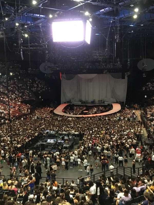 AccorHotels Arena, sección: Balcon A, fila: Rang 2, asiento: 21