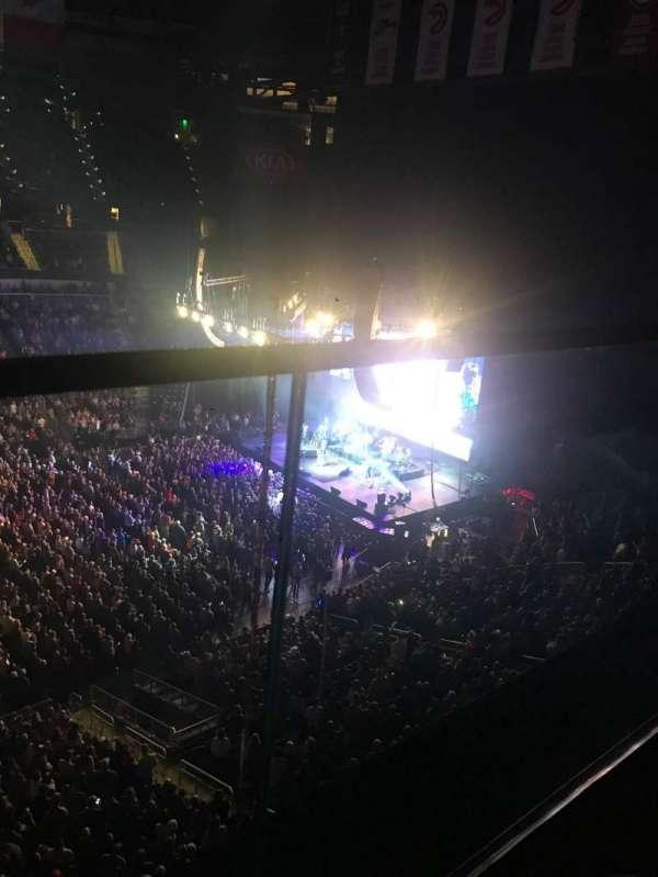 State Farm Arena, sección: 209, fila: A, asiento: 14