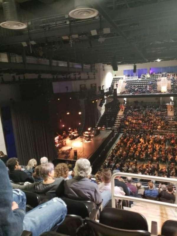 UMBC Event Center, sección: 205, fila: K, asiento: 19