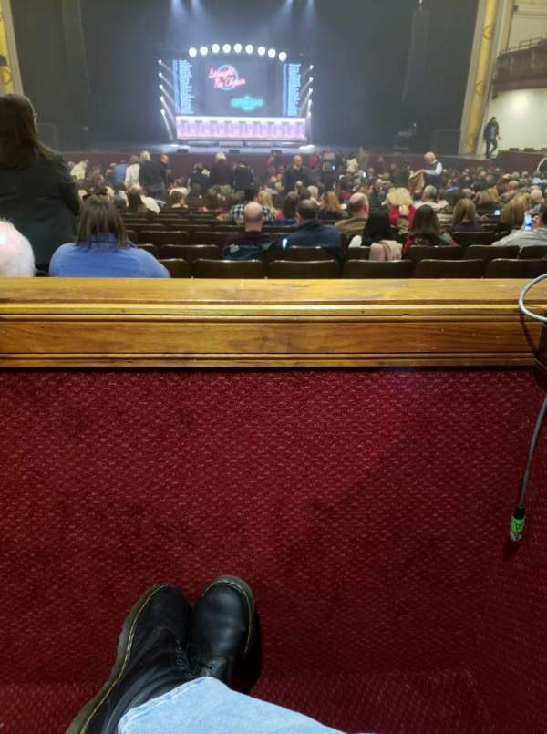 Modell Performing Arts Center, sección: Box CC, fila: A, asiento: 3