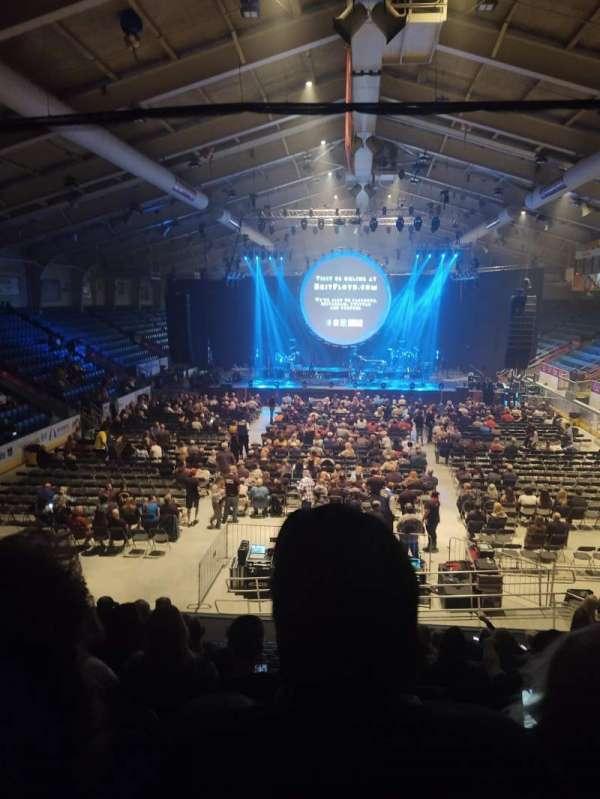 1st Summit Arena, sección: 20, fila: N, asiento: 14