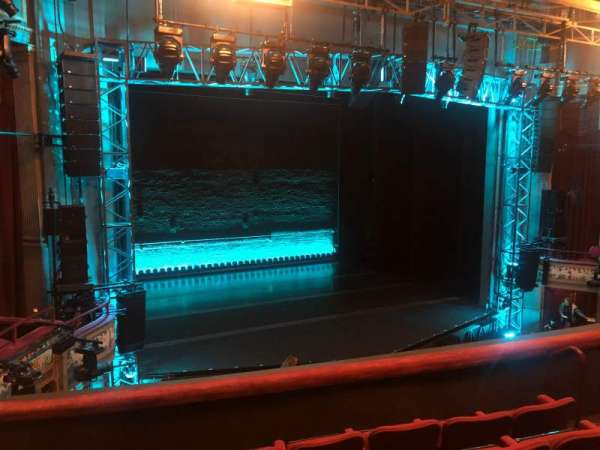 Broadhurst Theatre, sección: Mezzanine L, fila: E, asiento: 13