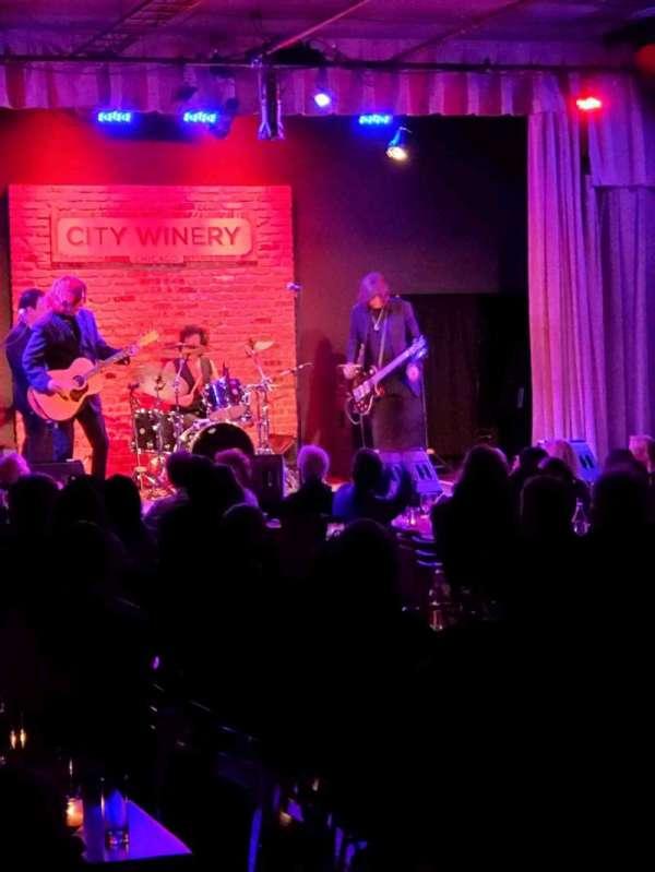 City Winery, sección: VIP, asiento: 510