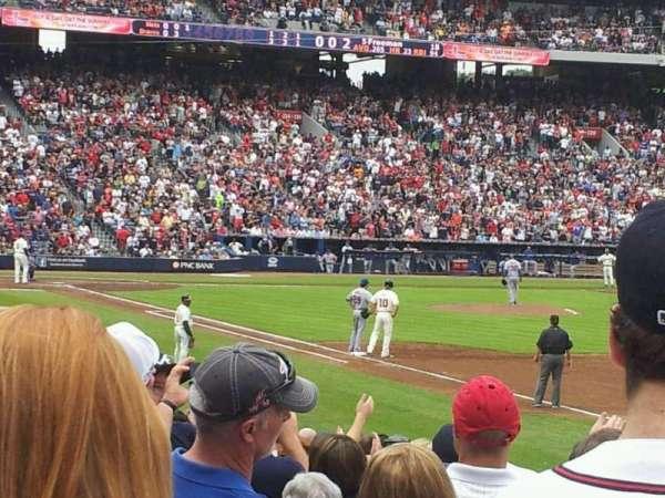 Turner Field, sección: 233L, fila: 14, asiento: 101