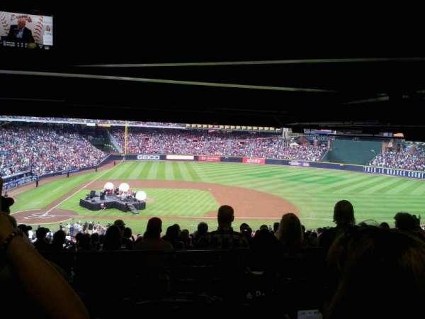Turner Field, sección: 311L, fila: 9, asiento: 101