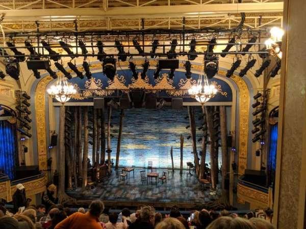 Gerald Schoenfeld Theatre, sección: Mezzanine C, fila: K, asiento: 110