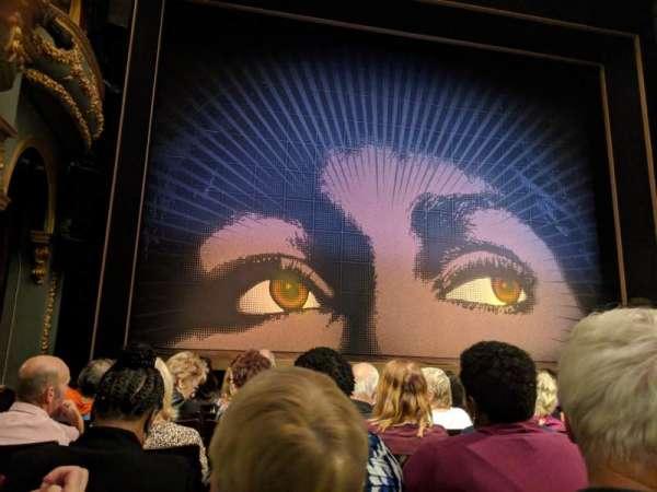 Aldwych Theatre, sección: Stalls, fila: G, asiento: 20