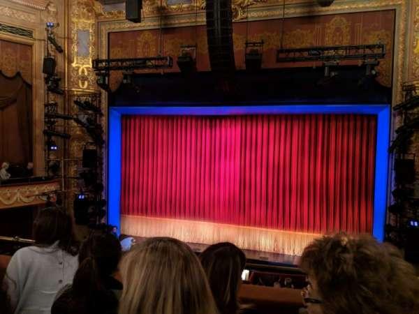 Longacre Theatre, sección: Mezzanine C, fila: C, asiento: 101