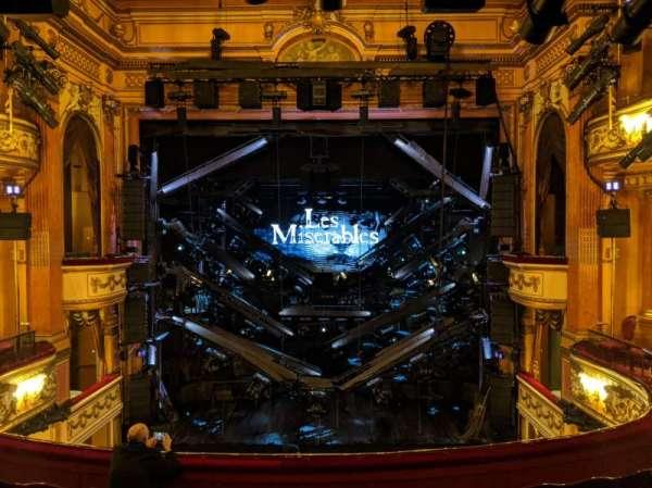 Gielgud Theatre, sección: Dress Circle, fila: F, asiento: 17