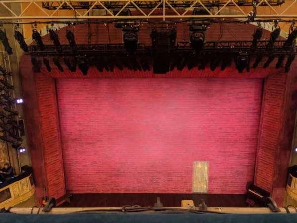 Shubert Theatre, sección: Balcony C, fila: A, asiento: 108