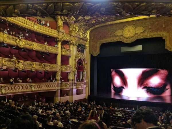 Opera Garnier Paris, sección: 32-36, fila: 3, asiento: 20