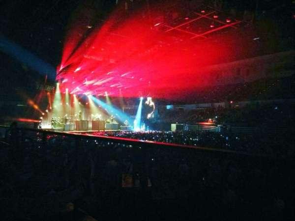 Pechanga Arena, sección: L23, fila: 1, asiento: 6