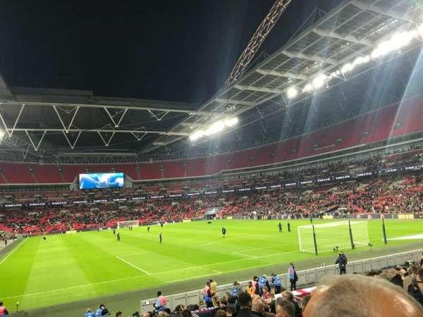 Wembley Stadium, sección: 114, fila: 19, asiento: 60